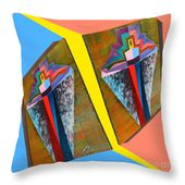 Shots Shifted - Metamorphose 3 Throw Pillow for Sale by Michael Bellon