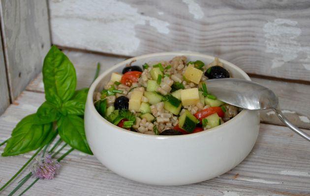 Salade d'été aux crozets