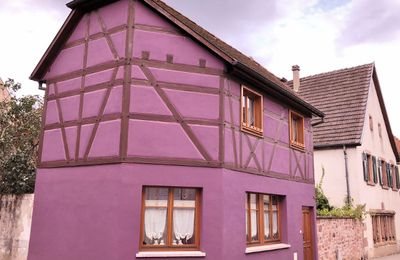 Bergheim, village coloré