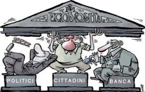 Italia-Arlecchino: servi di tutti i padroni
