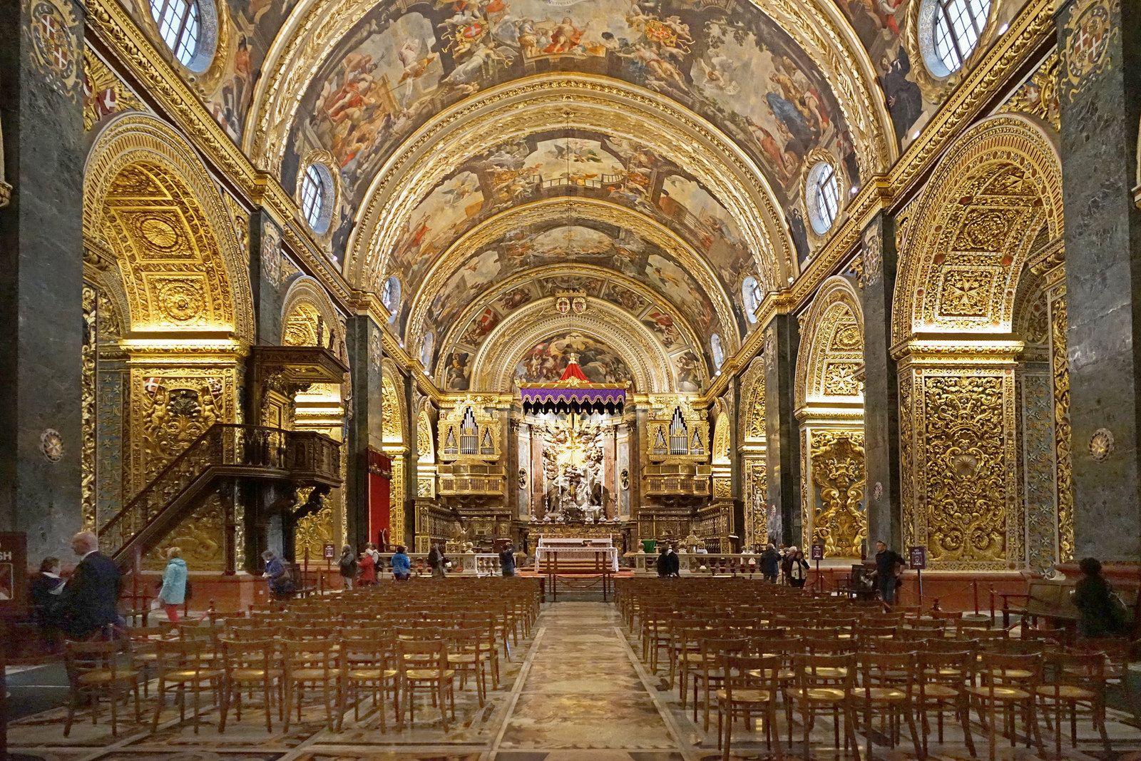 Co-cathédrale Saint-Jean - La Valette - Malte