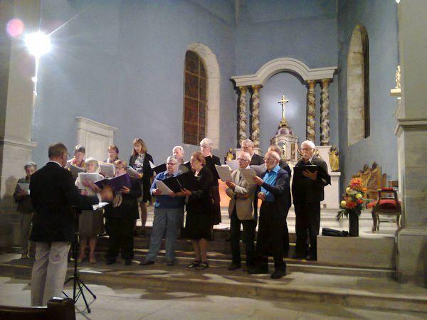 Succès du concert à Echenoz