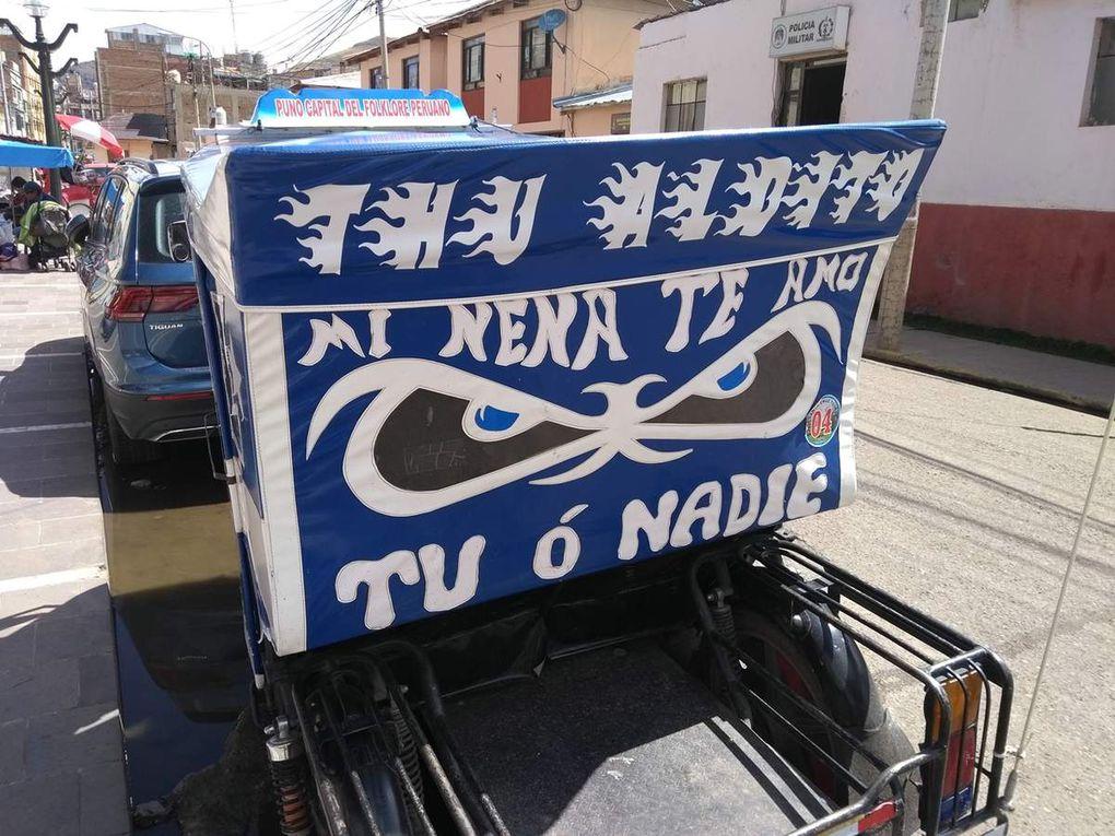 Sur les rives du lac Titicaca (Bolivie et Pérou)