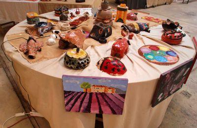 stage de céramique-peinture pour enfants