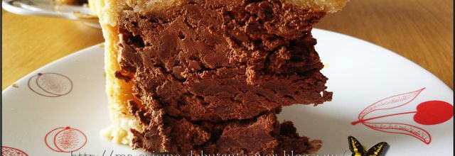 Charlotte au chocolat au cooking chef gourmet