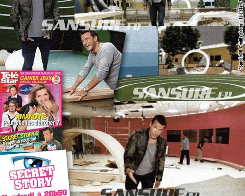 Secret Story 2 : Les photos de la maison !