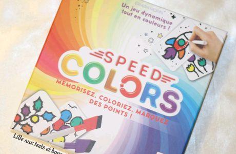 Découverte du jeu Color Speed de Lyfestyle Bordgames