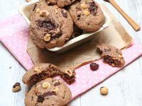 Cookies au nutella et noisettes grillées @ Les Gourmands {disent} d'Armelle