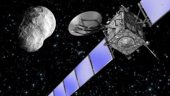 Per la prima volta una sonda atterrata su una cometa