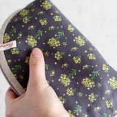 How to Sew a Basic Zippered Pouch ~