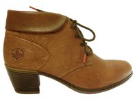 Bottines lacets RIEKER : Y2131-22 couleur camel
