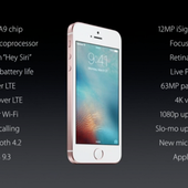 Keynote Apple - iPhone SE, iPad Pro : moins grands, moins chers