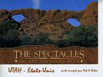 The Spectacles Arches National Park