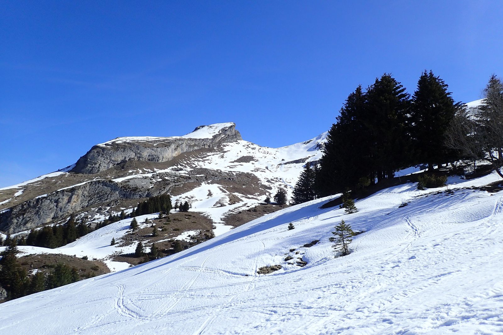 Mont Charvin : Combe Ouest (version 2)