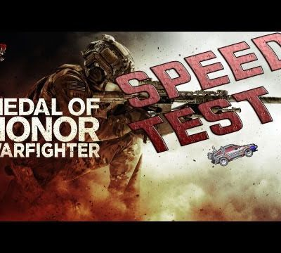 Speedtest#1 Medal Of Honor Warfighter (Solo)