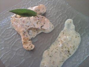 Aiguillettes de poulet à l'estragon