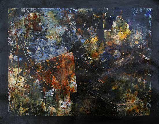 La peinture est une organisation, un ensemble de relations entre des formes sur lesquelles viennent se faire et se défaire les sens qu'on lui prête. (Soulages, 1948)