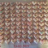 Voici mes 122 Coeurs Valentins crées... pour l'instant ! - Chez Mamigoz