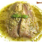 Papillotes de colin au pesto et au vin blanc - sucreetepices.over-blog.com