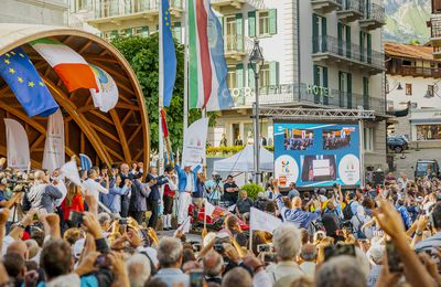 ITALY:  Cortina, the Winter Olympic Games will celebrate 65 years
