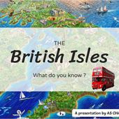 The British Isles by Anne-Sophie Charrière on Genially