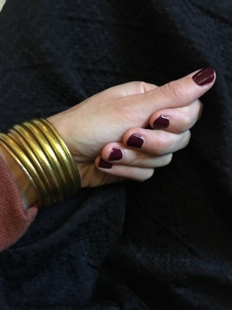Me faire les ongles pour les fêtes