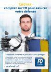 Défense du statut cadre Cadres, comptez sur FO pour assurer votre défense
