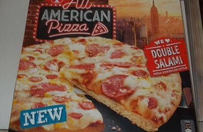 Dr. Oetker All American Pizza Double Salami