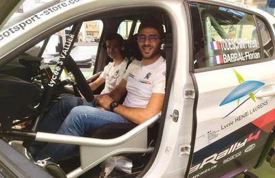 Todeschini, Champion de France Junior, découvre la 208 Rally4 !