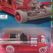 OLD NUMBER 5.5 CAMION DE POMPIERS US HOT WHEELS 1/64 - car-collector.net