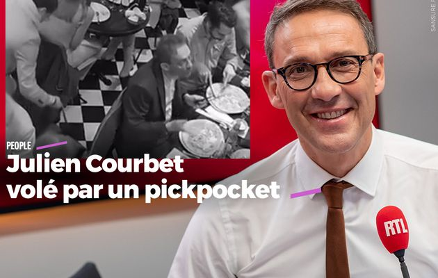 Julien Courbet volé par un pickpocket #CPVA