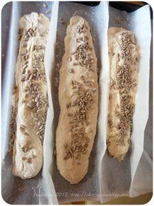 Mes petites baguettes aux graines de tournesol pour un tour en cuisine