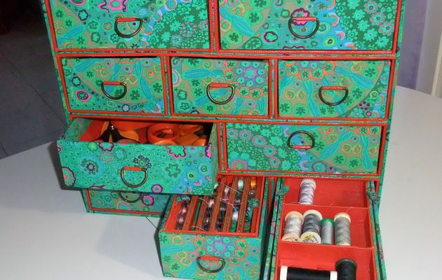 A large sewing box by Françoise !!!