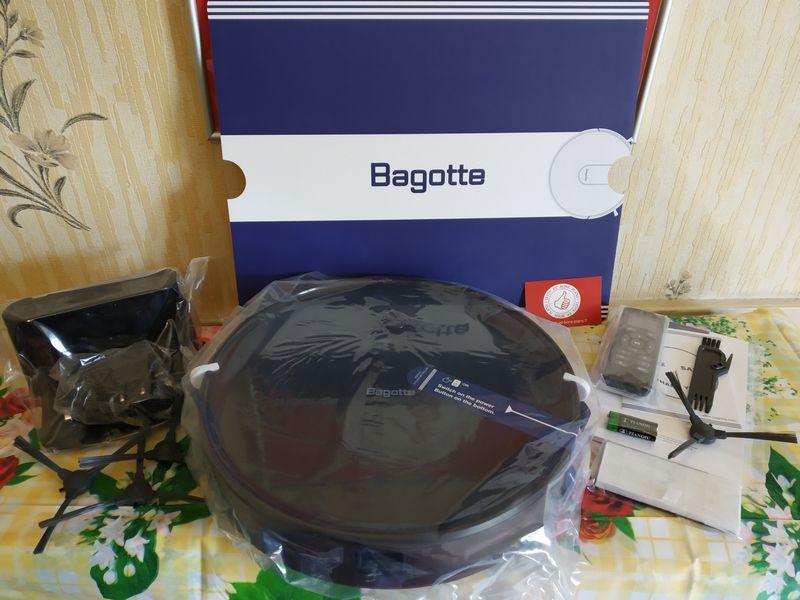 unboxing de l'aspirateur robot 3-en-1 multifonctions - Bagotte BG600 @ Tests et Bons Plans