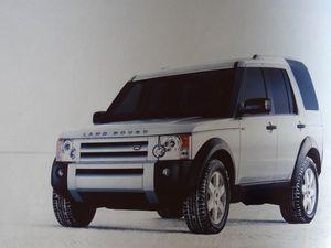 Publicités Nouvelle Fiat Living, Land Rover Dicovery 3, Cl. Elisabeth poulain
