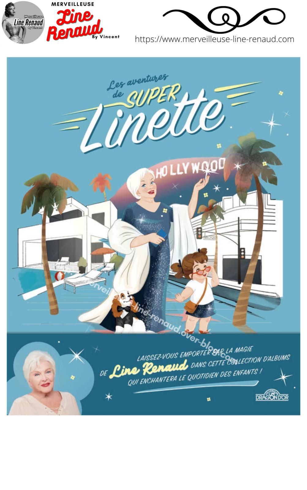 NEWS: «Les  Aventures de Super Linette » sortie des 2 premier album le 08/04/2021