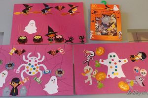 Leurs tableaux d' Halloween
