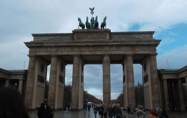 Berlin, premiers regards sur la capitale