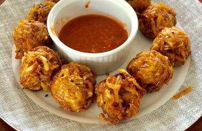 Beignets de taro à la mauricienne