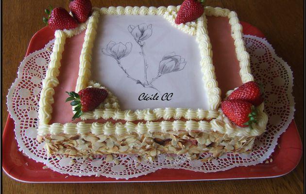 Recette fraisier ou framboisier...