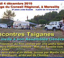 Assemblée générale Rencontres Tsiganes 4 décembre 2010 Marseille