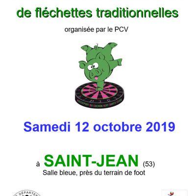 COUPE DU COMITÉ DU MAINE, le 12/10/19 à SAINT-JEAN-SUR-MAYENNE (53)