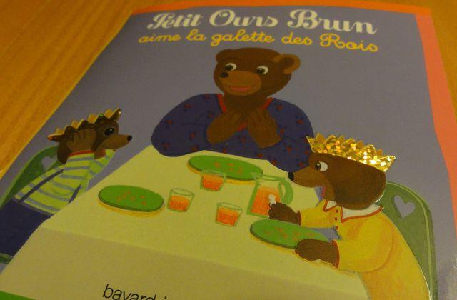 J'aime la galette et Petit Ours Brun aussi - défi du jeudi