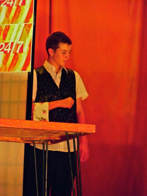 Les séries TV font leur thèatre à la salle des fêtes le 29 mi 2011 ARASOL