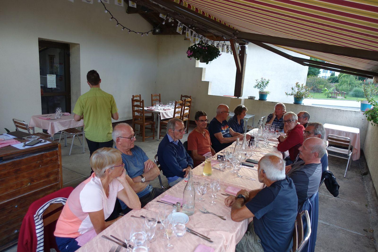 TOUR DU RHONE-  Etape 1 -Chasselay>> St Clément sur Valsonne Mercredi 25 aout 2021