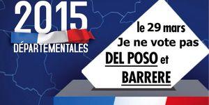 Election départementale : 1er objectif atteint