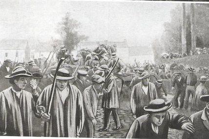 1905. Difficile séparation entre l'Église et l'État