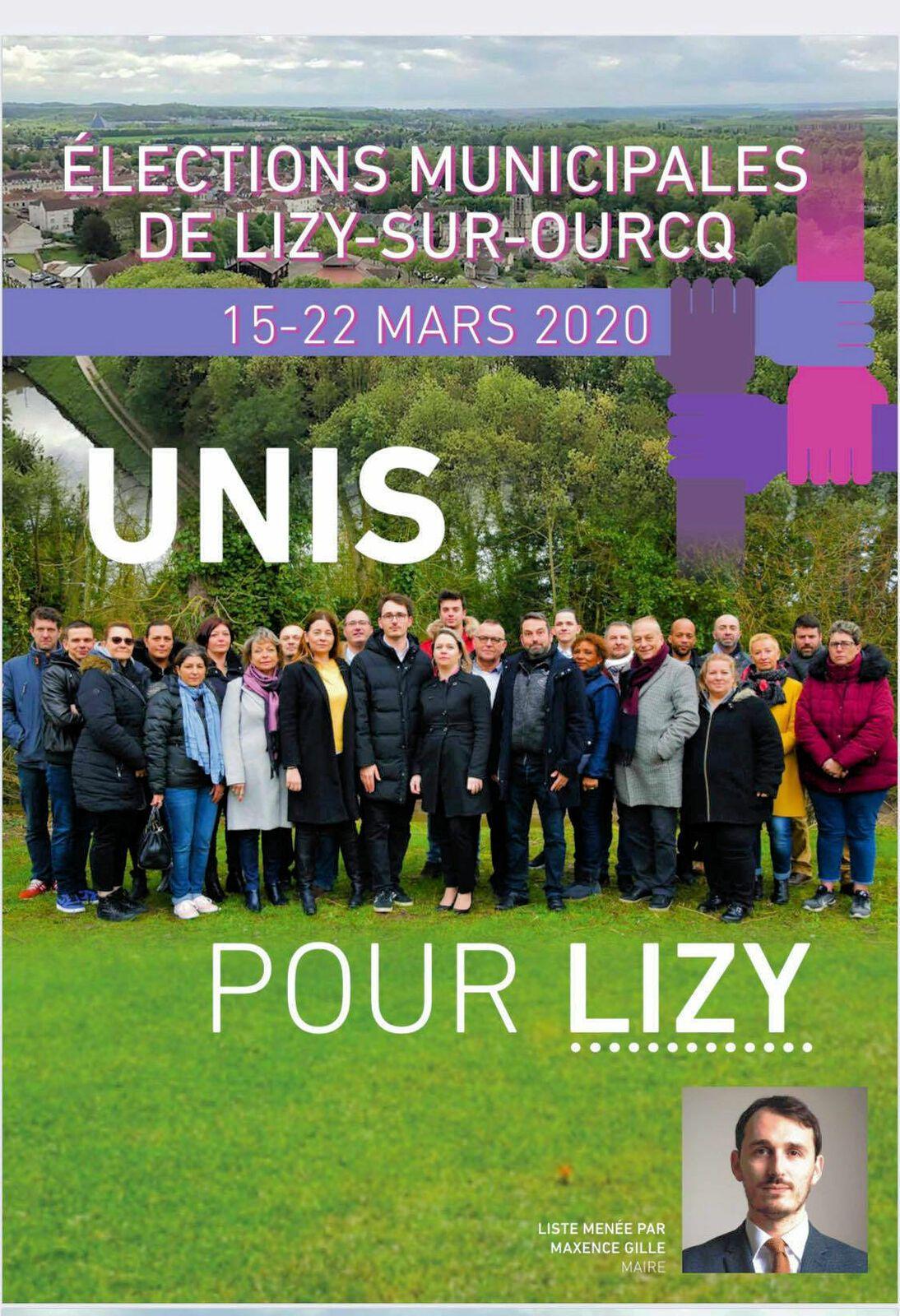 Affiche de campagne municipales 2020