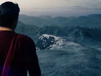 From the heart of solitude rises Superman.