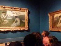 La visite du musée
